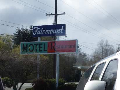 Lunch and Bad Weather Break at the Fairmount Restaurant
