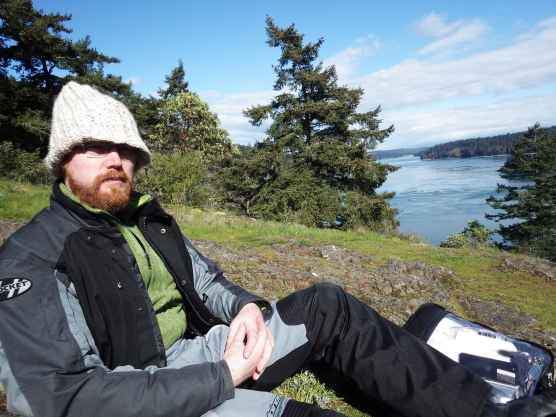 Papa Smurf at Deception Pass