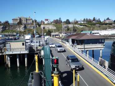 Ferry from Port Townsend to Whidbey Island
