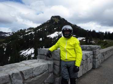 DES at the Chinook Pass summit pullout.