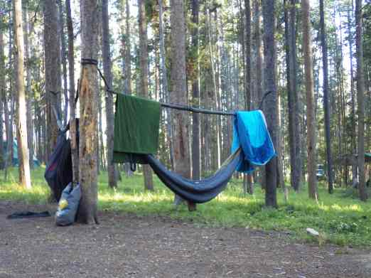 The great hang at Lodgepole.