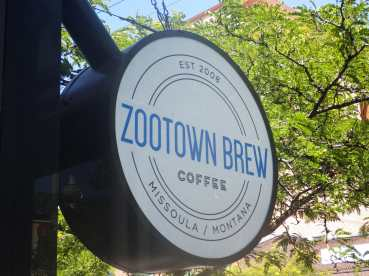 Missoula MT's Zootown Brew. A great little coffee shop.