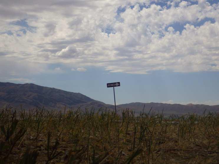 One way to nowhere Idaho