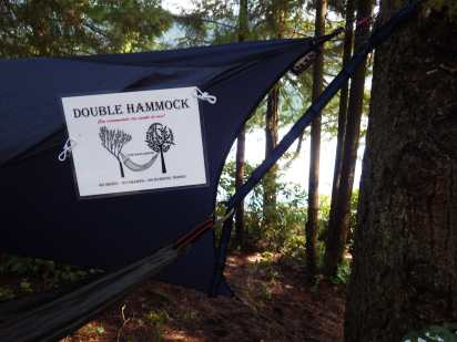 A Thermarest double Slacker at The Gallows Hammock Village