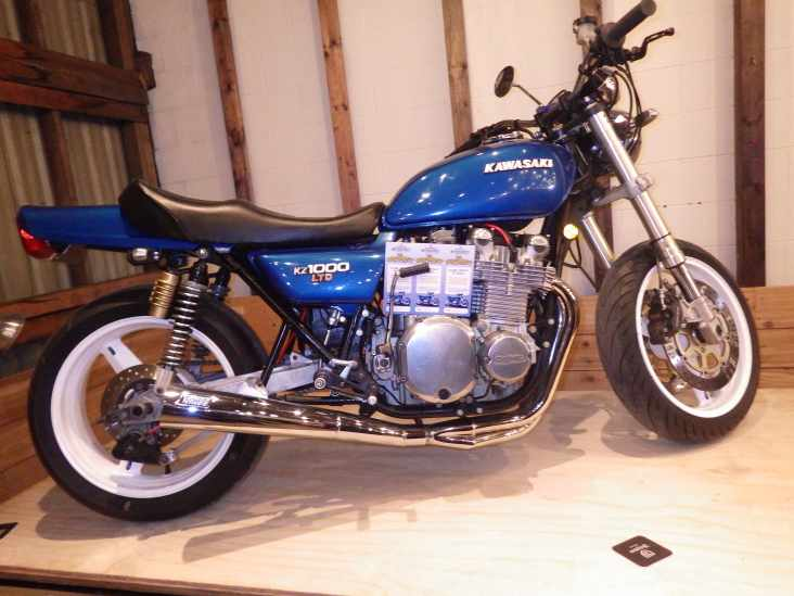 The raffle bike: Rebuilt 1977 Kawasaki KZ1000