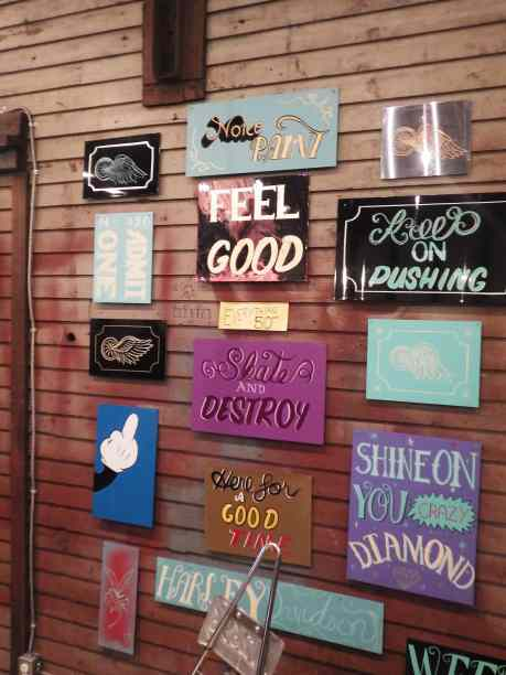 Need a sign in your garage?