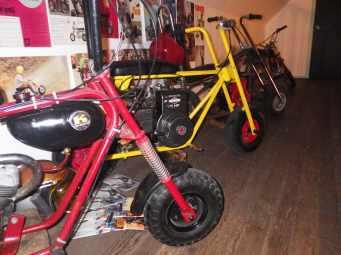 Mini-bike madness!