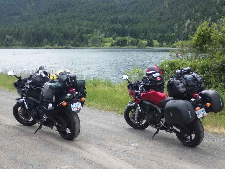 Monte Lake on the way to Vernon