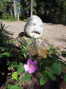 Objet d'art at Waitabit Creek