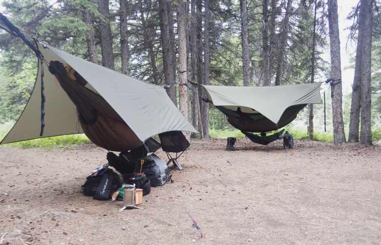 Camping at Bow River