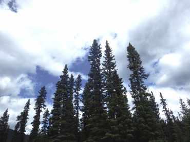 Rocky Mountain sky