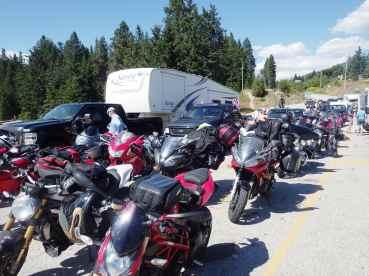 Balfour Ferry bike gang