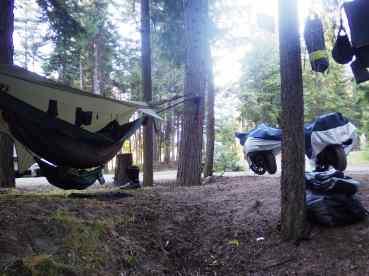 Camping in Nakusp