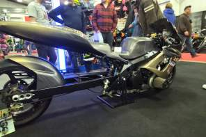 Drag bike... with a long swingarm